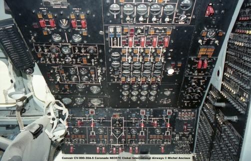 667 Convair CV-990-30A-5 Coronado N8357C Ciskei International Airways © Michel Anciaux