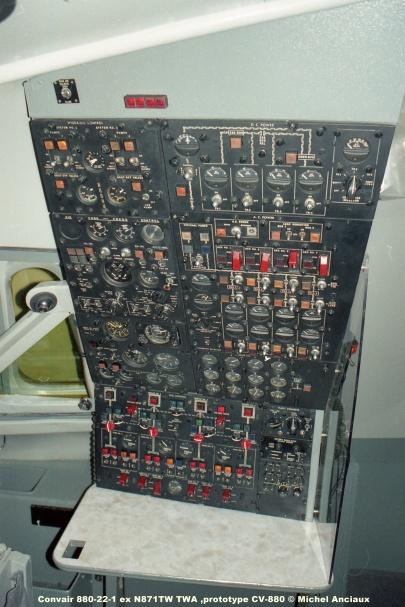 668 Convair 880-22-1 ex N871TW TWA ,prototype CV-880 © Michel Anciaux