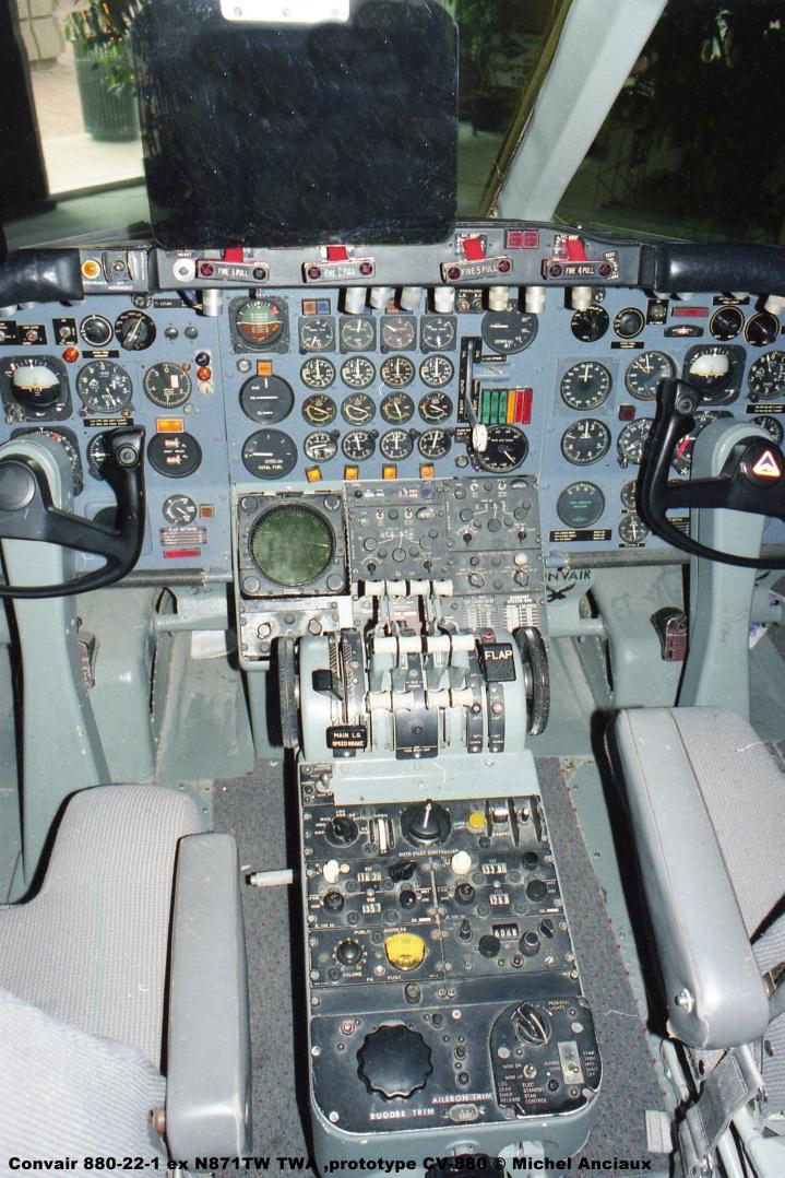 669 Convair 880-22-1 ex N871TW TWA ,prototype CV-880 © Michel Anciaux