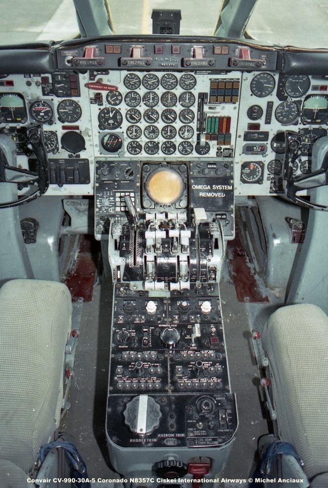 669 Convair CV-990-30A-5 Coronado N8357C Ciskei International Airways © Michel Anciaux