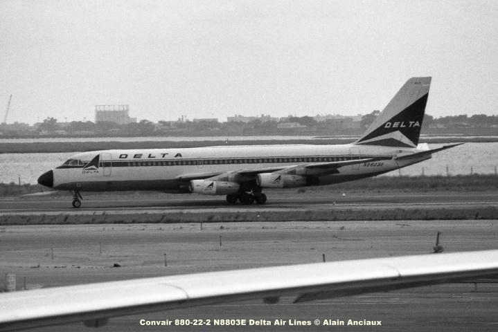 675 Convair 880-22-2 N8803E Delta Air Lines © Alain Anciaux