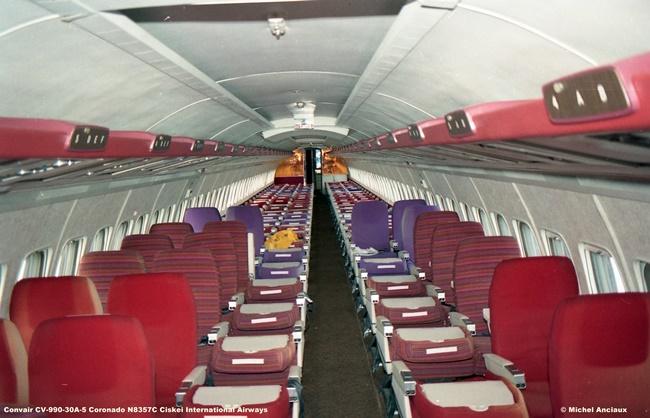 684 Convair CV-990-30A-5 Coronado N8357C Ciskei International Airways © Michel Anciaux