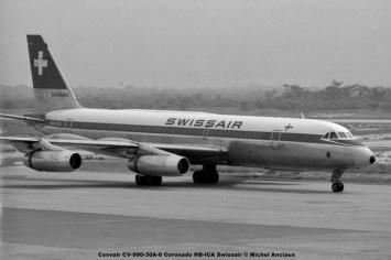 692 Convair CV-990-30A-6 Coronado HB-ICA Swissair © Michel Anciaux
