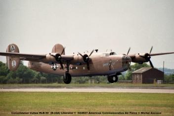 705 Consolidated Vultee RLB-30 (B-24A) Liberator 1 N24927 American Commemorative Air Force © Michel Anciaux