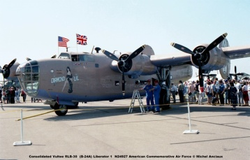 707 Consolidated Vultee RLB-30 (B-24A) Liberator 1 N24927 American Commemorative Air Force © Michel Anciaux