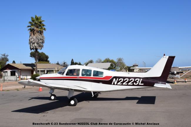 DSC_0001 Beechcraft C-23 Sundowner N2223L Club Aereo de Curacautin © Michel Anciaux
