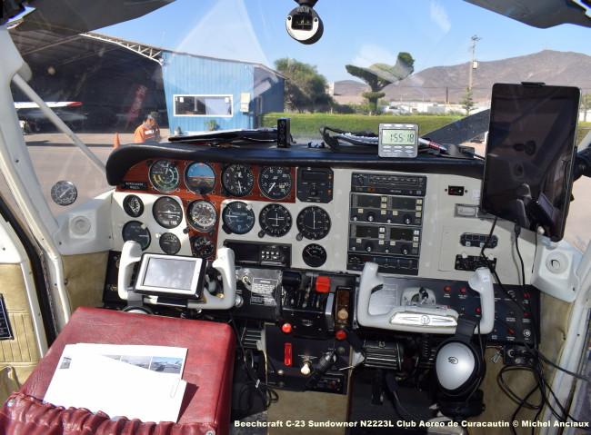 DSC_0023 Beechcraft C-23 Sundowner N2223L Club Aereo de Curacautin © Michel Anciaux