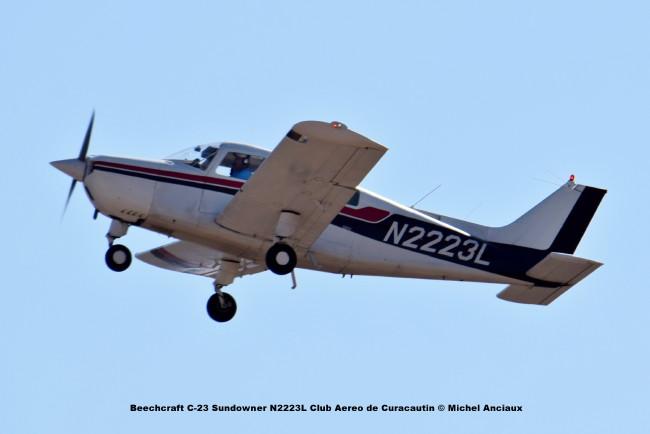 DSC_0053 Beech C-23 Sundowner N2223L Club Aereo de Curacautin © Michel Anciaux