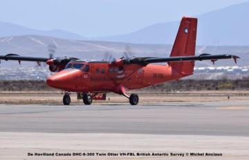 DSC_0093 De Havilland Canada DHC-6-300 Twin Otter VH-FBL British Antartic Survey © Michel Anciaux