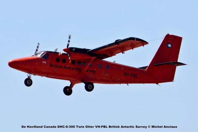DSC_0205 De Havilland Canada DHC-6-300 Twin Otter VH-FBL British Antartic Survey © Michel Anciaux