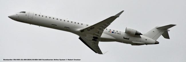 DSC_7373 Bombardier CRJ-900 (CL-600-2D24) EI-GEA SAS Scandinavian Airline System © Hubert Creutzer