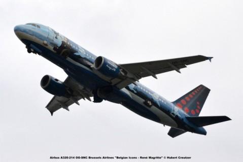 DSC_7417 Airbus A320-214 OO-SNC Brussels Airlines ''Belgian Icons - René Magritte'' © Hubert Creutzer