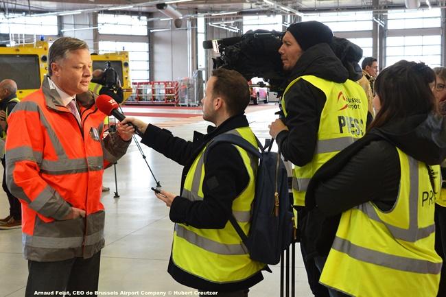 DSC_7489 Arnaud Feist, CEO de Brussels Airport Company © Hubert Creutzer