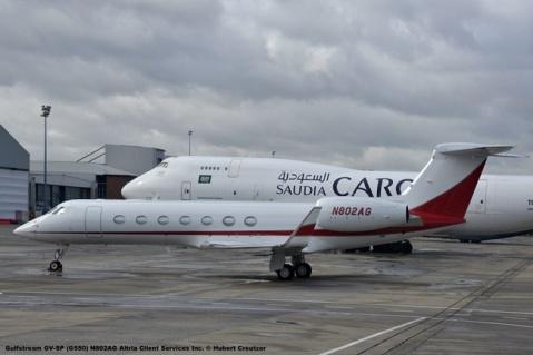 DSC_7573 Gulfstream GV-SP (G550) N802AG Altria Client Services Inc. © Hubert Creutzer