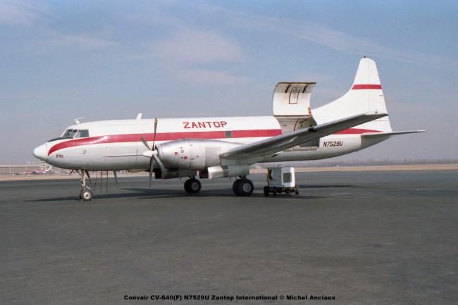 img101 Convair CV-640(F) N7529U Zantop International © Michel Anciaux