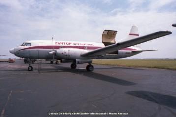 img103 Convair CV-640(F) N3410 Zantop International © Michel Anciaux