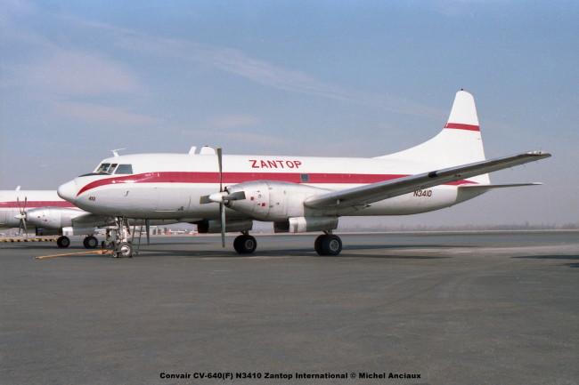 img104 Convair CV-640(F) N3410 Zantop International © Michel Anciaux