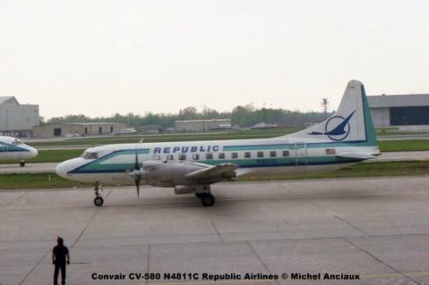 img204 Convair CV-580 N4811C Republic Airlines © Michel Anciaux