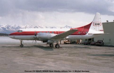 img429 Convair CV-580(F) N5820 Sear Alaska Ailines Inc. © Michel Anciaux