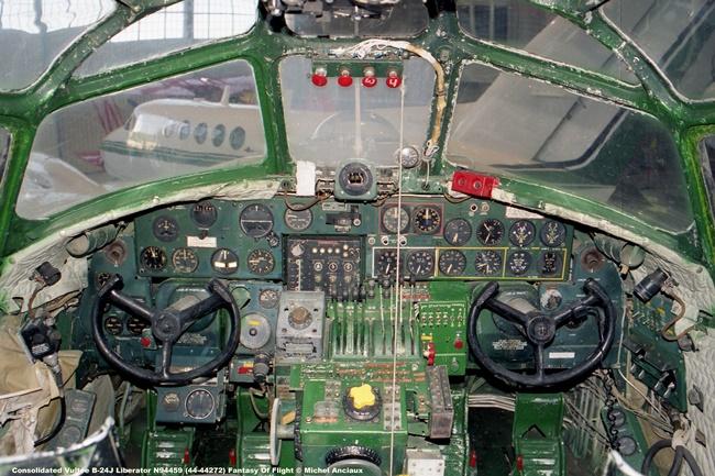 img468 Consolidated Vultee B-24J Liberator N94459 (44-44272) Fantasy Of Flight © Michel Anciaux