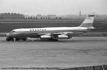 img531 Convair CV-990-30A-5 Coronado EC-BZO Spantax © Michel Anciaux