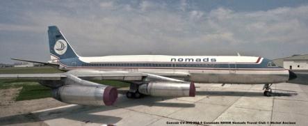 img721 Convair CV-990-30A-5 Coronado N990E Nomads Travel Club © Michel Anciaux