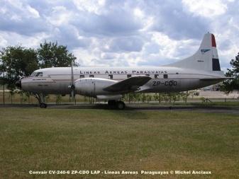 img745 Convair CV-240-6 ZP-CDO LAP - Lineas Aereas Paraguayas © Michel Anciaux