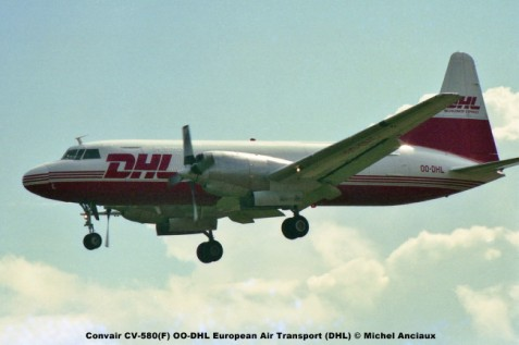 img760 Convair CV-580(F) OO-DHL European Air Transport (DHL) © Michel Anciaux