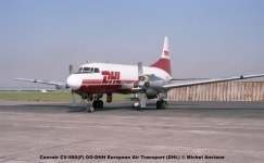 img764 Convair CV-580(F) OO-DHH European Air Transport (DHL) © Michel Anciaux