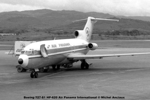 001 Boeing 727-81 HP-620 Air Panama International © Michel Anciaux