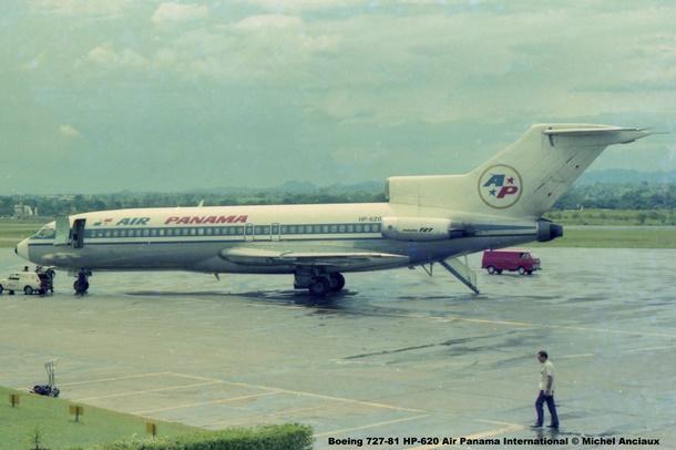 002 Boeing 727-81 HP-620 Air Panama International © Michel Anciaux