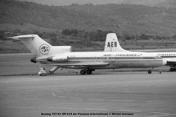 005 Boeing 727-81 HP-619 Air Panama International © Michel Anciaux