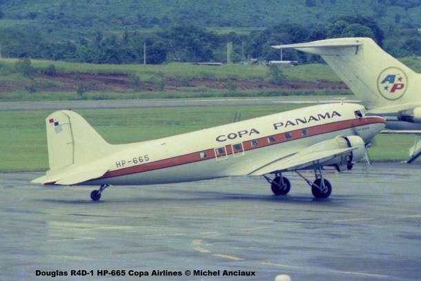 006 Douglas R4D-1 HP-665 Copa Airlines © Michel Anciaux