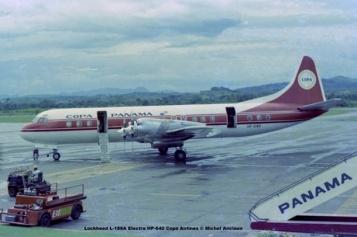 008 Lockheed L-188A Electra HP-640 Copa Airlines © Michel Anciaux