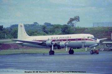 009 Douglas DC-6B Skymaster HP-493 Inair Panama © Michel Anciaux