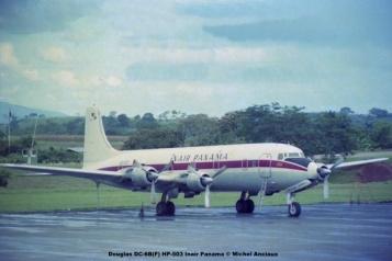 010 Douglas DC-6B(F) HP-503 Inair Panama © Michel Anciaux