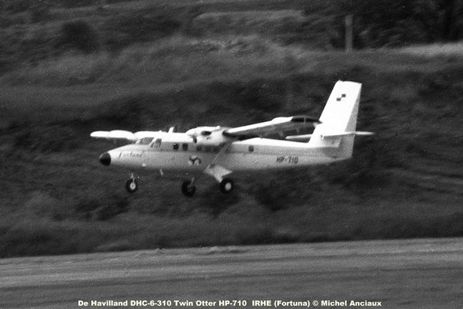 011 De Havilland DHC-6-310 Twin Otter HP-710 IRHE (Fortuna) © Michel Anciaux