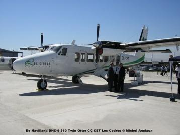 012 De Havilland DHC-6-310 Twin Otter CC-CST Los Cedros Aviación © Michel Anciaux