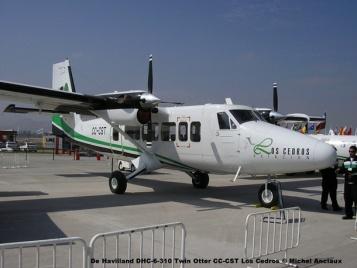 013 De Havilland DHC-6-310 Twin Otter CC-CST los Cedros Aviación © Michel Anciaux