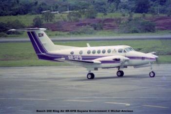 022 Beech 200 King Air 8R-GFB Guyana Government © Michel Anciaux