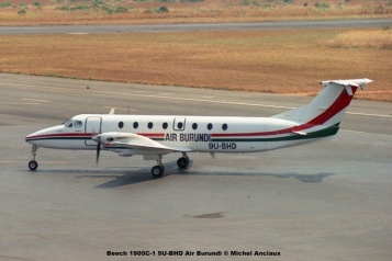 img443 Beech 1900C-1 9U-BHD Air Burundi © Michel Anciaux