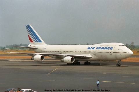 img446 Boeing 747-228B SCD F-GCBJ Air France © Michel Anciaux