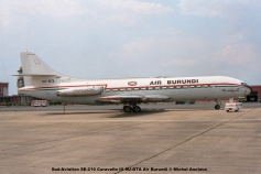 img451 Sud-Aviation SE-210 Caravelle III 9U-BTA Air Burundi © Michel Anciaux