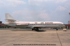 img452 Sud-Aviation SE-210 Caravelle III 9U-BTA Air Burundi © Michel Anciaux