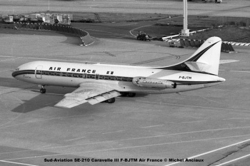 img455 Sud-Aviation SE-210 Caravelle III F-BJTM Air France © Michel Anciaux