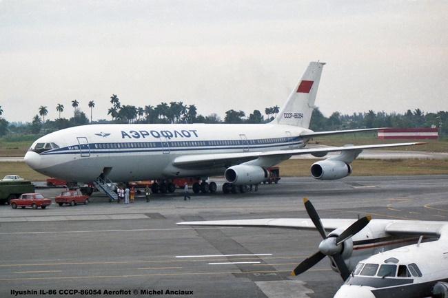 051 Ilyushin IL-86 CCCP-86054 Aeroflot © Michel Anciaux
