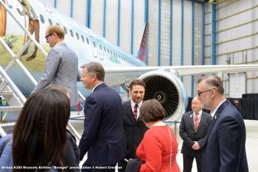 DSC_7813 Airbus A320 Brussels Airlines ''Bruegel'' presentation © Hubert Creutzer