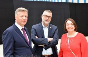 DSC_7860 Arnaud Feist, Peter De Wilde & Christina Foerster © Hubert Creutzer