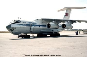 img083 Ilyushin IL-76T CCCP-76461 Aeroflot © Michel Anciaux