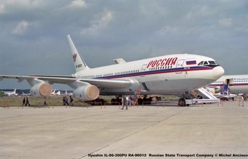 img125 Ilyushin IL-96-300PU RA-96012 Russian State Transport Company © Michel Anciaux